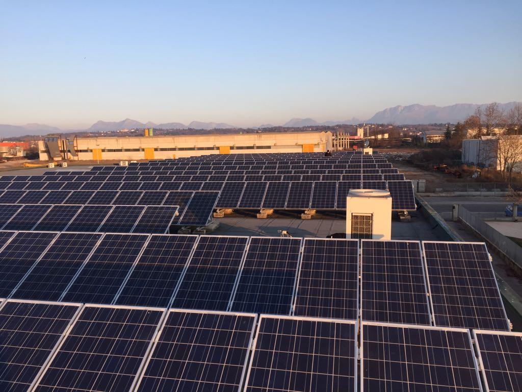 Controllo Funzionamento Impianti Fotovoltaici Industriali